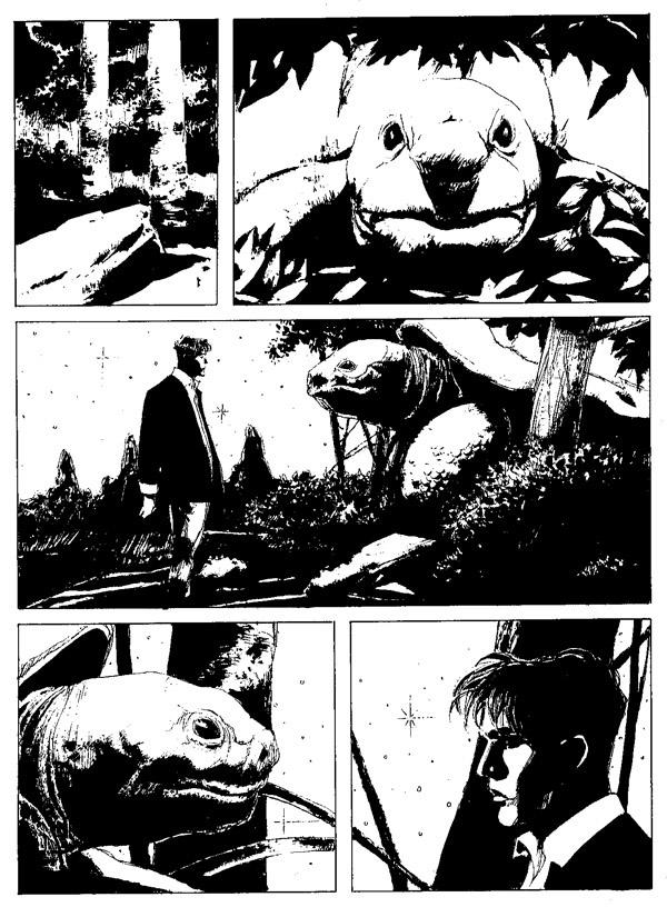 « Dylan Dog » par Corrado Roi.