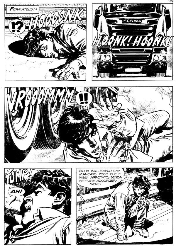 « Dylan Dog » par Domingo Mandrafina.