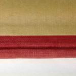 Dos rouge tissu classique (le plus courant).