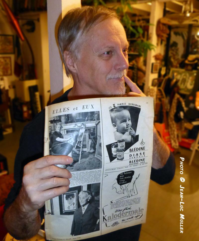 Frank + journal avec Bledine