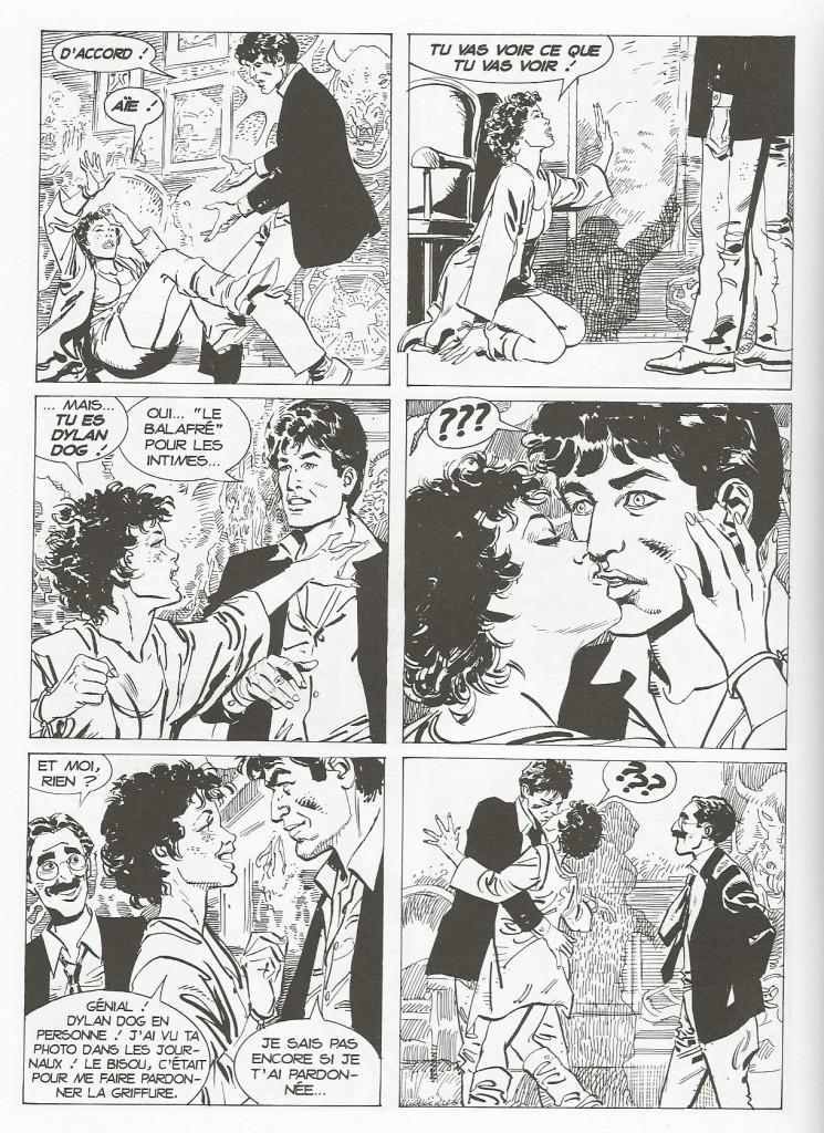Jack l'éventreur, la deuxième enquête de Dylan Dog, par Gustavo Trigo.