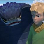 Le Petit Prince et la serpent dans la série animée