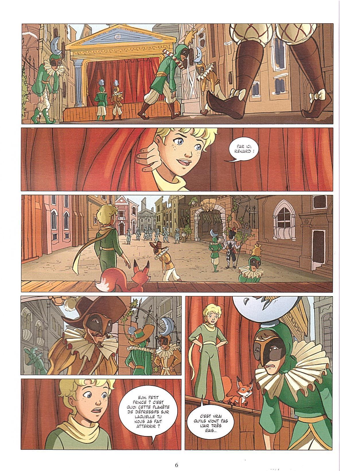 le petit prince rencontre avec la rose
