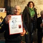 Remise du Prix Schlingo ; Photo Renaud Joubert pour la Charente Libre.