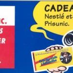 Publicité pour Nestlé, en 1993.