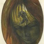 """""""Dessiner pour penser"""", dessin réalisé à l'âge de 16 ans."""