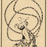 Annonce de la nouvelle aventure de Spirou, au n°967 du 25 octobre 1956.