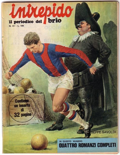 1970 _L_Intrepido_ - copertina dedicata a Beppe Savoldi