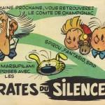 Annonce des Pirates du silence, dans le n° 915 de Spirou.