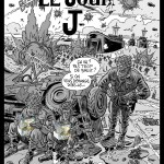 D-Day : dessin créé pour célébrer la parution du tome 1 (mars 2012)