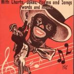 Une autre affiche de minstrel show.