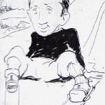 Autoportrait de Walter Molino.