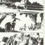 « Epoxy » de Paul Cuvelier vu par François Schuiten, dans le catalogue Cent pour cent bande dessinée édité par la CIBDI et Paris bibliothèques, en 2010.