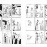 les 2 premières pages de la petite histoire parue dans « Lomax » qui a donnée, à Duchazeau, l'idée de faire « Blakface ».