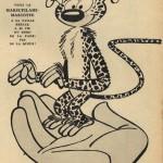 Publicité pour le Marsu mascotte en latex, au n° 975 de Spirou, daté du 20 décembre 1956.