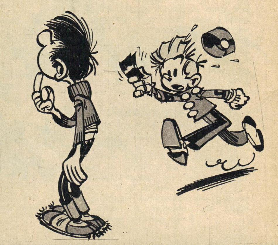 Spirou n° 1191 du 9 février 1961.