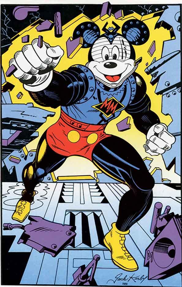 Mickey Mouse par Jack Kirby