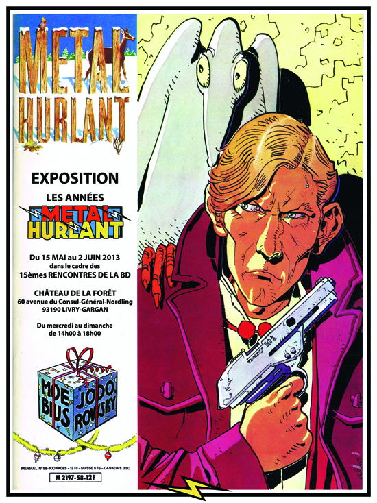 Affiche expo Metal Hurlant
