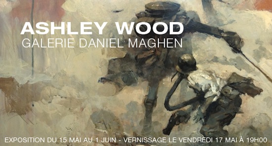 Affiche expo Wood
