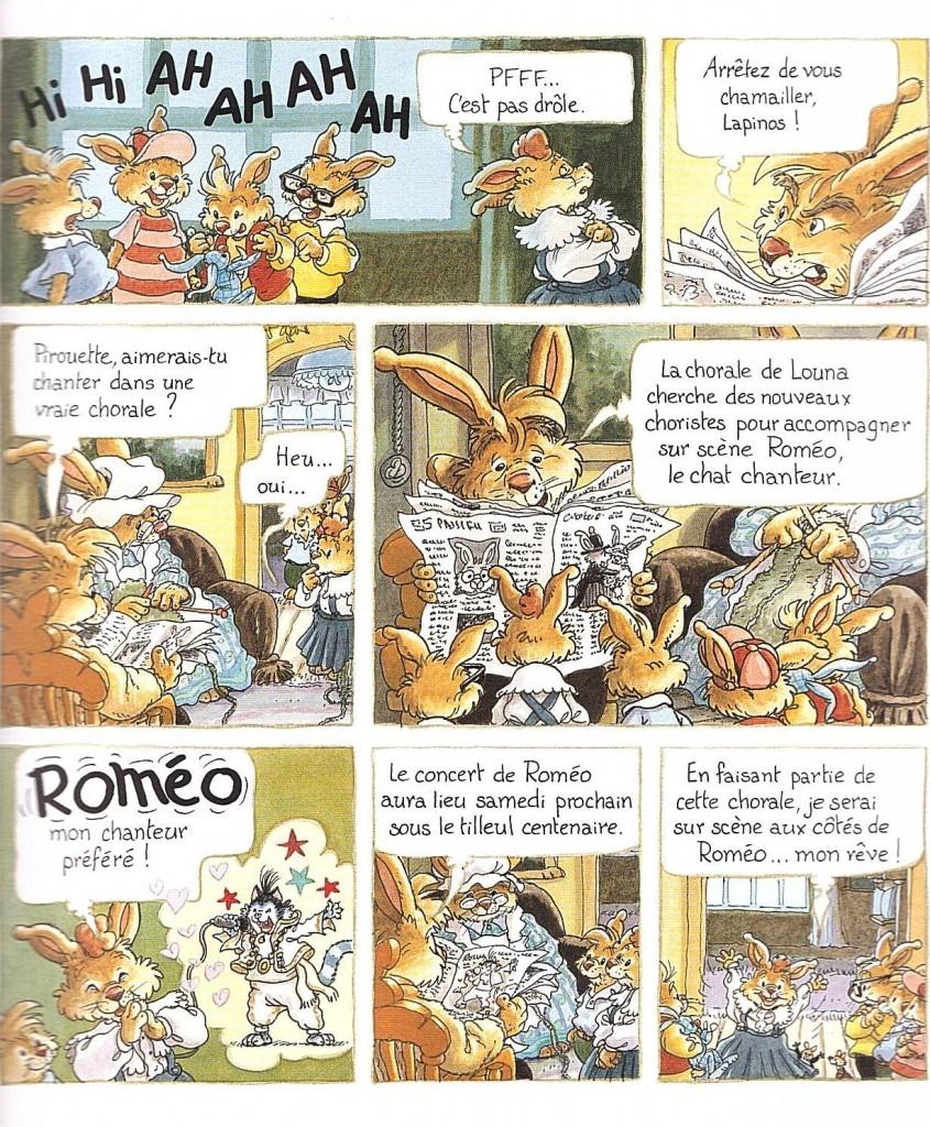 La Famille Passiflore, 2 La Chorale page 5