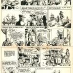 Planche originale d'un récit complet historique paru dans Tintin, en 1959.