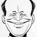 Caricature de Fred Funcken par Tibet.