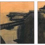 Illustration pour Les Mers perdues de Jacques Abeille, aux éditions Attila.