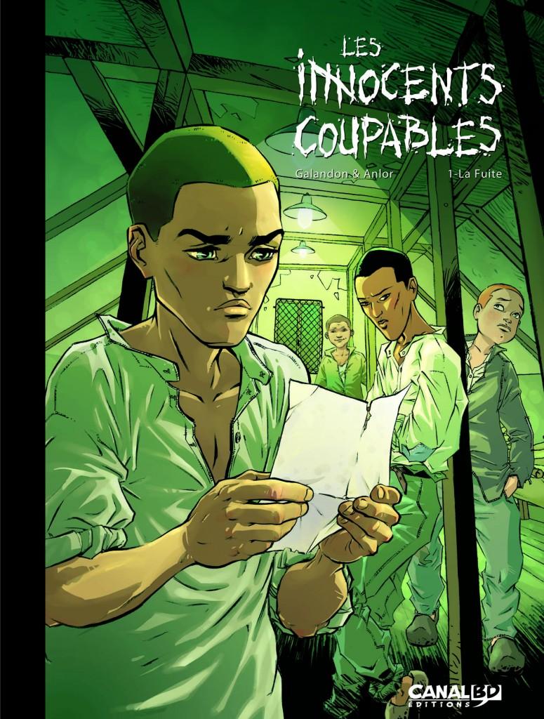 Visuel pour le tirage de tête du tome 1 par Canal BD (2011)
