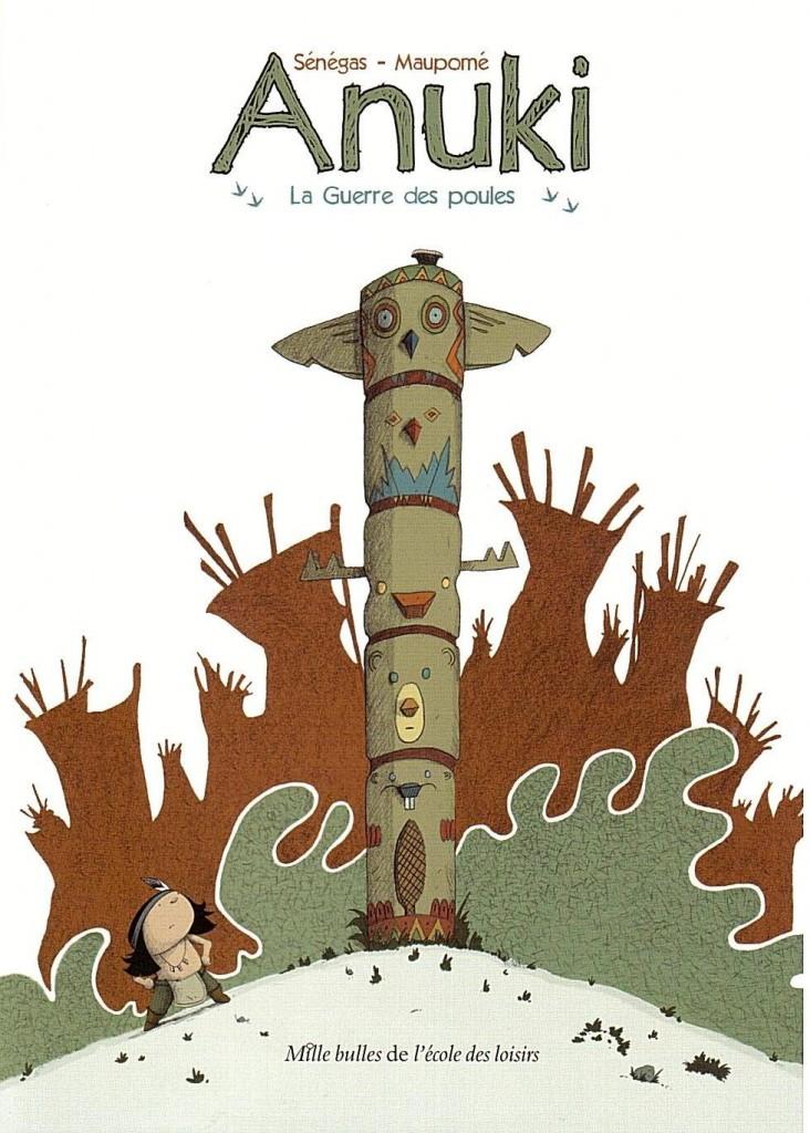 Anuki tome 1 La Guerre des poules couverture