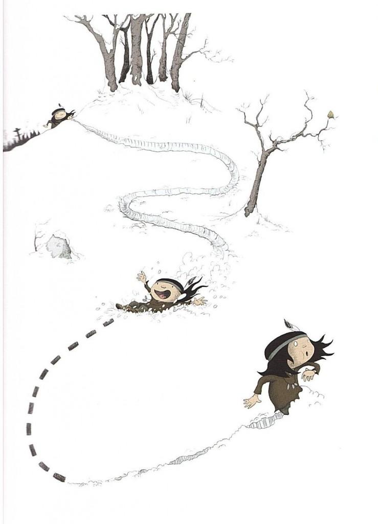 Anuki tome 3 Le Coup du lapin première planche