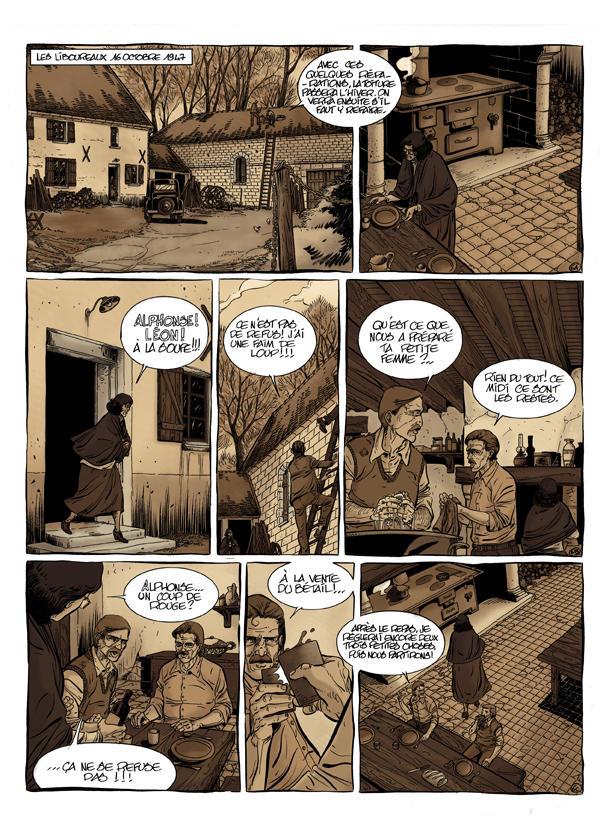 Une page de « L'Affaire Marie Besnard ».