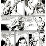 """Une page du « Tarzan » de Fusco publié à l'initiative de François """"Têtevide"""" Dumont."""