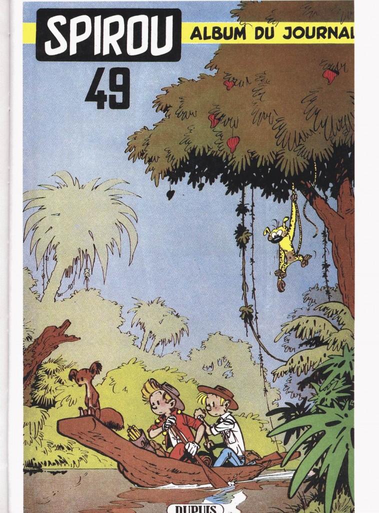 Couverture du recueil Spirou n° 49 (avril 1954)