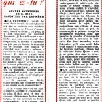 Présentation de Gire par lui-même dans Vaillant 623 en 1957 :