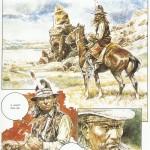 """Une page de """"Chaman"""" de Paolo Eleuteri Serpieri, publiée à l'origine dans Orient Express en 1983."""