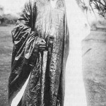 Ibrahim Njoya, sultan de Bamun, au Cameroun.