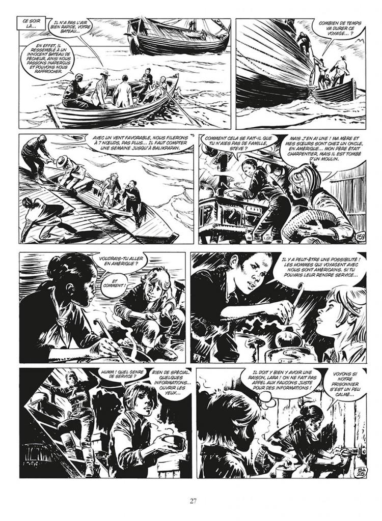 Extrait du tome 4 de « Steve Severin » par René Follet et Yvan Delporte.