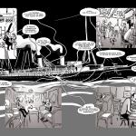 Extraits du storyboard des« Promeneurs du temps ».