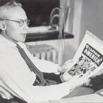 Martin Goodman, l'éditeur de Marvel.
