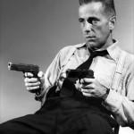 Humphrey Bogart dans  « High-Sierra ».