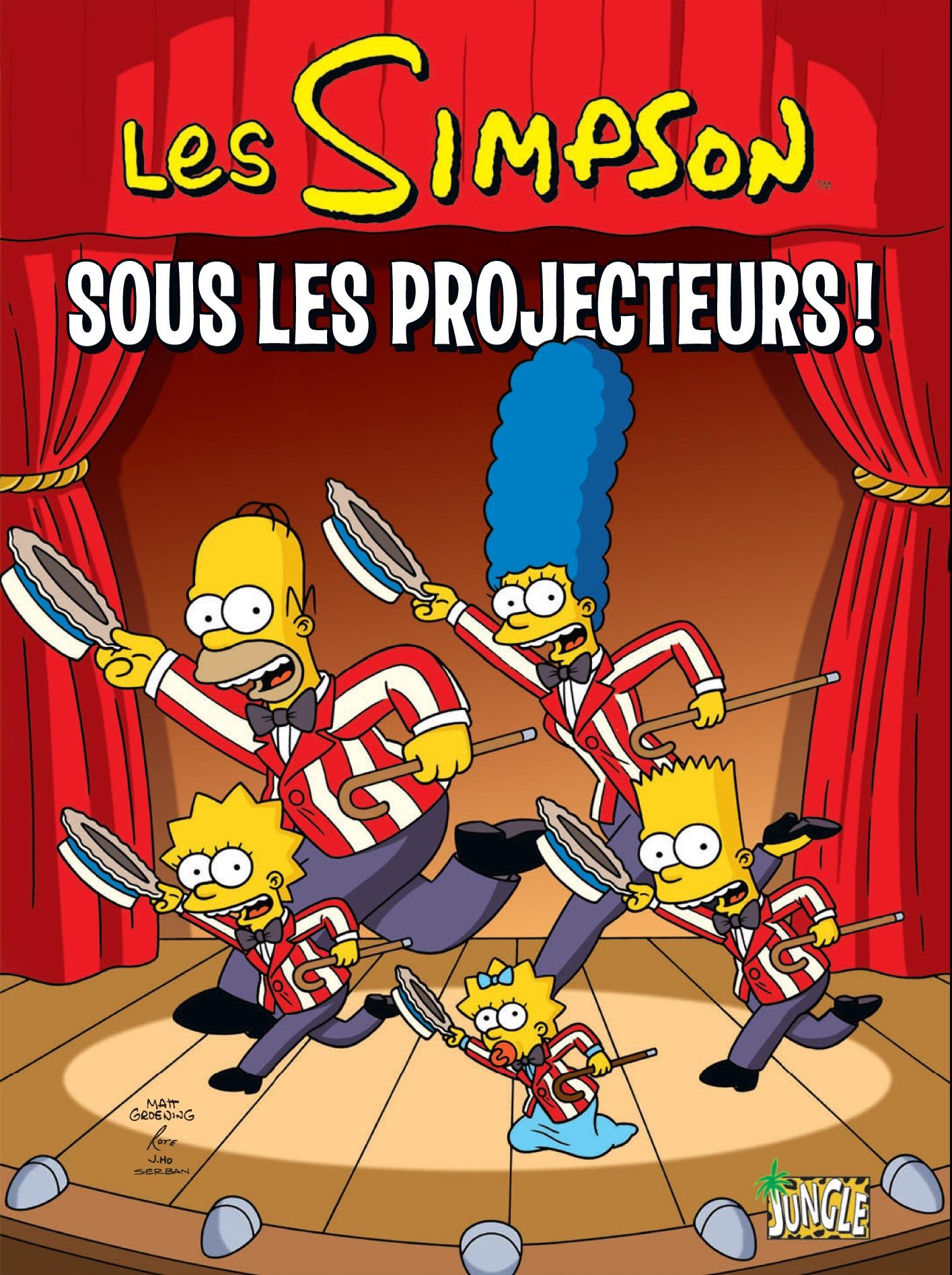 Les simpson prennent leur ind pendance - Bande dessinee simpson ...
