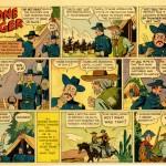 « The Lone Ranger » par Ed Kressy et Fran Striker.