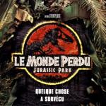 """Affiche pour """" Le Monde perdu """" en 1997"""