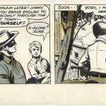Un strip quotidien du « Lone Ranger » par Charles Flanders.