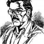 Autoportrait d'Aldo Capitanio.