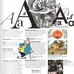 Abécédaire illustré de la littérature de jeunesse première page