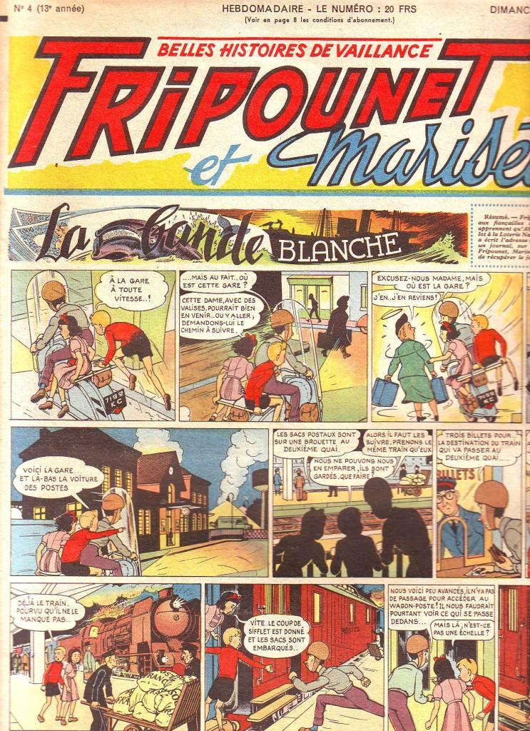Bande blanche 1953