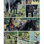 La première page du tome 3 de « Braise ».
