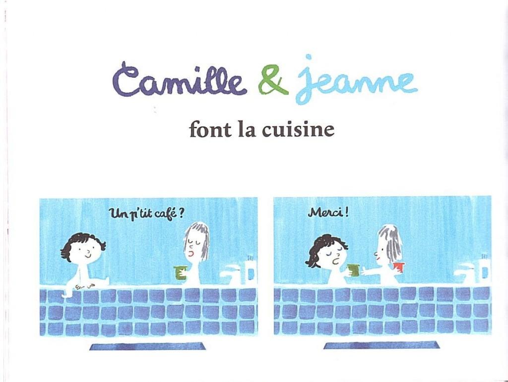 Camille & Jeanne s'entendent bien première planche