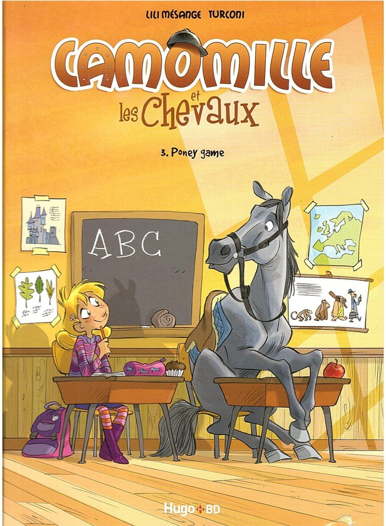 Camomille et les chevaux tome 3 couverture